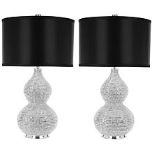 Safavieh Nicole Set of 2 Bead Base Lamps