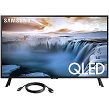 """Samsung 32"""" QLED Smart 4K UHD TV with 6' HDMI Cable"""