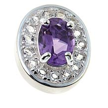 Sevilla Silver™ Amethyst Interchangeable Magnetic Station