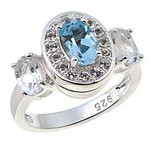 Sevilla Silver™ Interchangeable Gemstone Ring