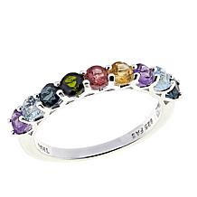 "Sevilla Silver™ ""Prism Collection"" Multigem Band Ring"
