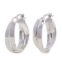 Sevilla Silver™ Twisted Hoop Earrings