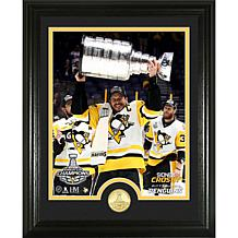 """Sidney Crosby 2017 Stanley Cup """"Trophy"""" Coin Photo Mint"""
