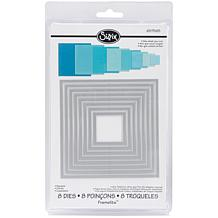 Sizzix Framelits Die Set 8-piece - Squares