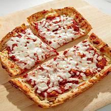 """Skinnygirl 5-pack 8"""" Cauliflower Gluten-Free Flatbread Pizzas"""