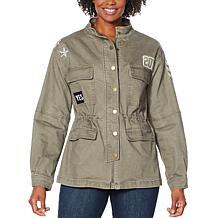 Skinnygirl Sustained Anorak Jacket