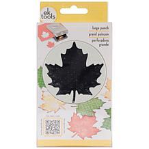 Slim Maple Leaf Paper Punch - Large