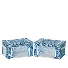 Small Collapsible Storage Boxes - Set of 2