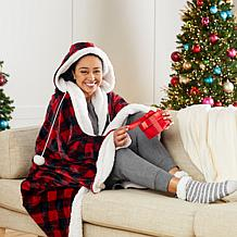 Soft & Cozy Oversized Hooded Throw Blanket