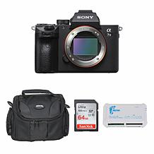 Sony Alpha a7 III 24MP Mirrorless Digital Camera Body Bundle