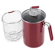 Sous Chef 4th Burner Pot with Steaming Basket