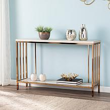 Southern Enterprises Youngston Faux Marble Console Table