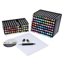 Spectrum Noir Classiques Blend Markers, Paper & Storage Bundle - Large