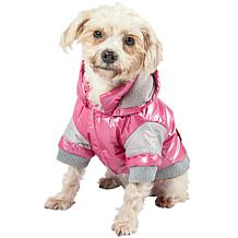 Sporty Vintage Aspen Pet Ski Jacket