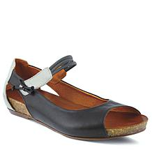 Spring Step Aside Peep-Toe Mary-Jane Flat