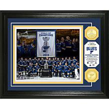 St. Louis Blues 2019 Stanley Cup Champs Banner Bronze Coin Photo Mint