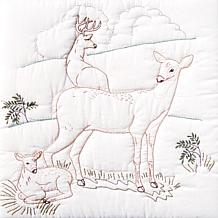 Stamped White Quilt Blocks 18-inch x 18-in 6-pack