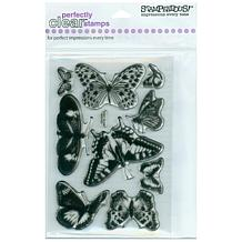 Stampendous Clear Stamp Set - Butterflies