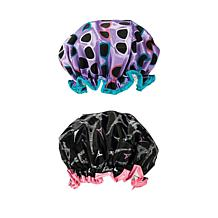 Studio Dry by Upper Canada Shower Cap 2-pack