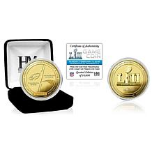 Super Bowl LII Official Gold Flip Coin by The Highland Mint