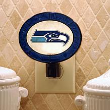 Team Glass Nightlight - Seattle Seahawks