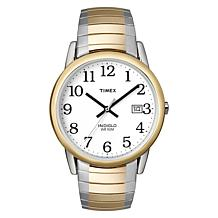 Timex Men's 2-Tone Stainless Steel Easy Reader Expansion Watch