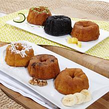 Tortuga 6-piece Rum Cake Gift Set
