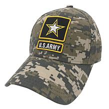 U.S. Army Woodland Digital Camo Adjustable Cap