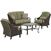 Hanover Ventura 4-Piece Patio Set