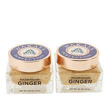 Wakaya 2-pack .6 oz. Nicaraguan Ginger and Turmeric Powder