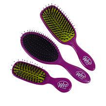 Wet Brush Purple Detangle and Shine 3-piece Set