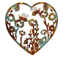 Wind and Weather Heart-Shaped Wall Art