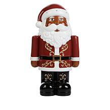 Wind and Weather Holiday Shorty LED Resin Statue with Timer