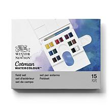 WINSOR AND NEWTON Cotman Water Color Compact Set of 14