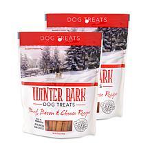 Winter Bark Beef, Bacon & Cheese Recipe Dog Treats 2 Pack 5 oz