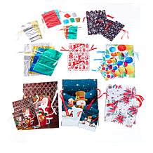 Winter Lane 52-piece All-Occasion Gift Bags and Tags Set