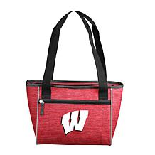 Wisconsin Crosshatch 16-Can Cooler Tote