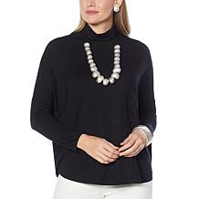 WynneLayers Modified Unstructured Turtleneck Top
