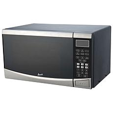0.9 Cu Ft Microwave (Stainless Steel with Black Cabinet)