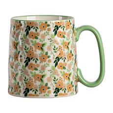 10 Strawberry Street Bella Sage Floral Mug 4-Pack