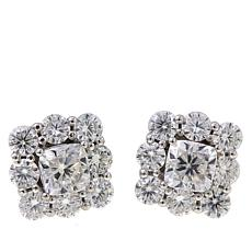 10k Gold 3 06ctw Multicut Moissanite Stud Earrings