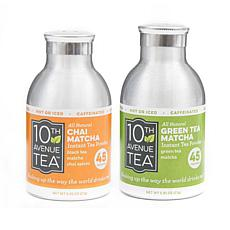 10th Avenue Tea Instant Chai & Green Tea - 2-pack