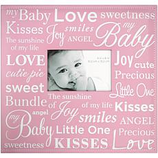 "12"" x 12"" Baby Expression Post Bound Album - Pink"
