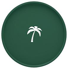 """14"""" Round Serving Tray With 1/2"""" Rim"""