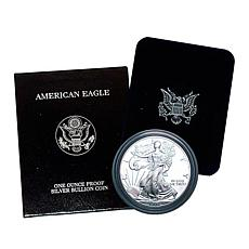 1998 P-Mint Proof Silver Eagle Dollar Coin