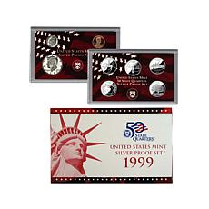 1999 San Francisco Mint Silver Proof Set