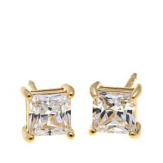 1ctw Absolute™ Princess 4-Prong Stud Earrings