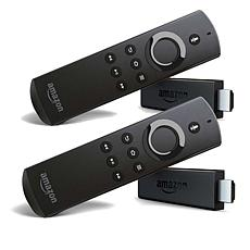 2-pack Amazon Fire TV Sticks HD Streaming Media Players