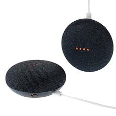 2-pack Google Home Mini Smart Assistants