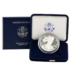 2010 W-Mint Proof Silver Eagle Dollar Coin